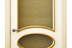 Двери из ясеня с гравировкой